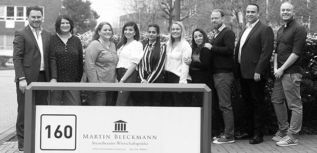 Das Team von Martin Bleckmann